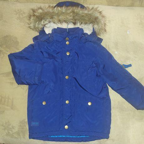 Н&М парка 2-3роки, куртка зима нова 2 рази одіта