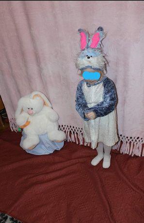 Костюм зайчика, зайчихи