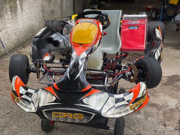 GoKart CRG TM9c 125cm biegi shifter biegowy spalinowy wyczynowy kartin