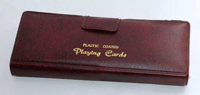 Bardzo elegancki zestaw do gry w karty