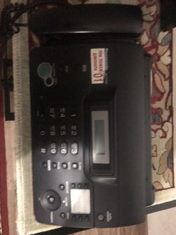 Стационарный телефон факс