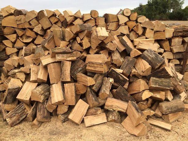 Sezonowane, połupane drewno kominkowe i opałowe! układane metry!