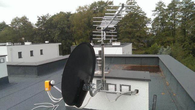Montaż Anten Jasło Kołaczyce Brzostek Biecz Skołyszyn TV SAT DVB-T LTE