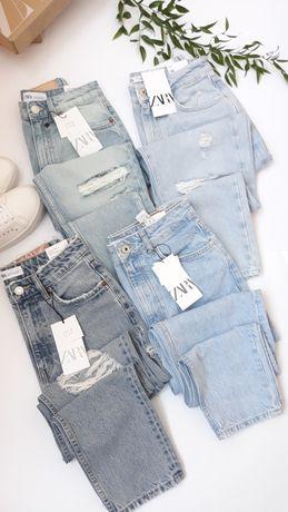 Джинси mom zara, женские джинсы zara mom, zara джинсы mom