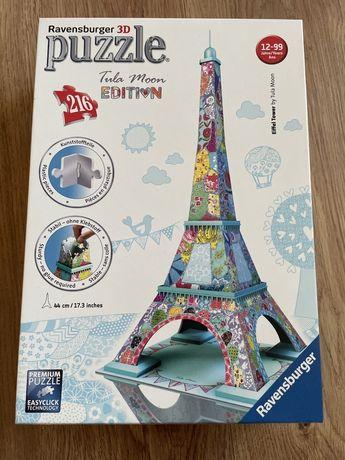 Puzzle 3D wieża Eiffla edycja tula moon