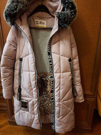 Зимове пальто для дівчат