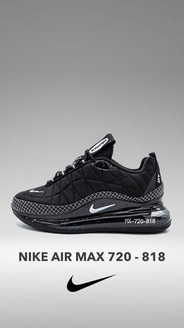 Кроссовки Nike air max 720-818(термо) Премиум  качество !!! (40-46р)