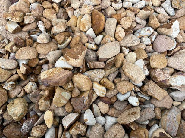 Kamień Ogrodowy 1-3, 3-6, 6-10cm Otoczak Grecki Pustynny 1000kg