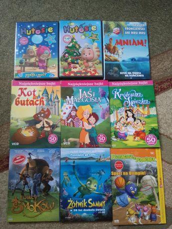 Bajki dla dzieci 9 płyt dvd