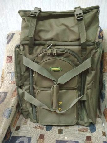Рыбацкая Сумка-рюкзак трансформер для рыбаков Acropolis РРС-1