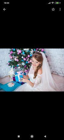 Свадебные платья 42-44размер