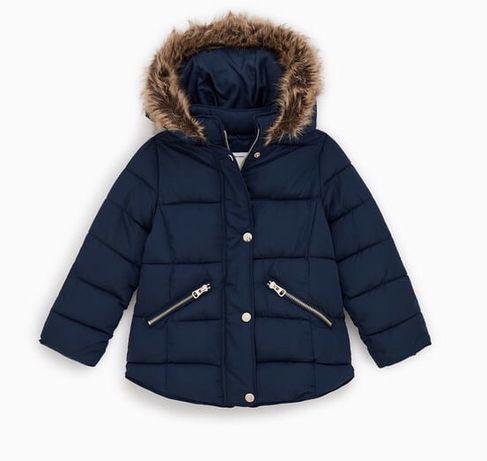Зимняя куртка ZARA для девочки