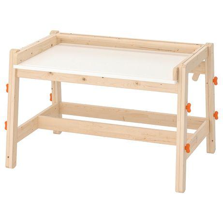 Biuro dziecięce Flisat Ikea
