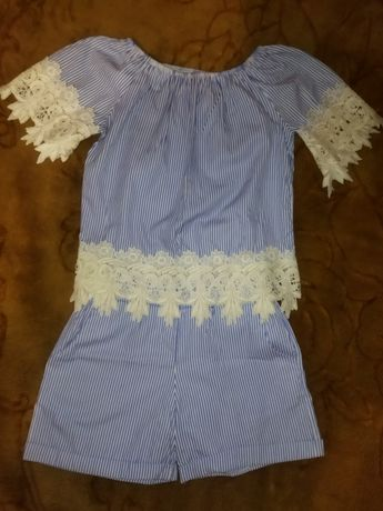 Нарядный костюм на девочку р.146