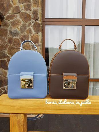 Кожаный итальянский рюкзак Virginia Conti