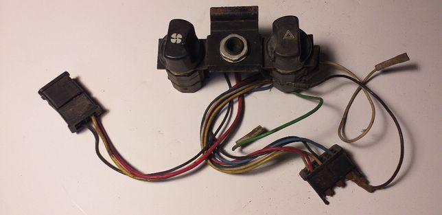 Przełącznik wentylatora i świateł awaryjnych, Skoda 105-120