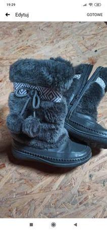 Buty zimowe kozaki ccc 26