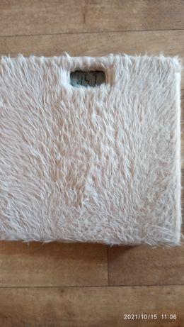 Весы небьющиеся напольные в ванную, с софт покрытием (антистресс)