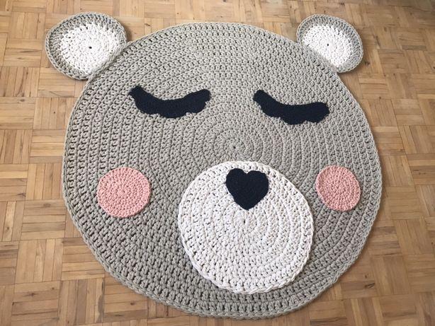Dywan dziecięcy handmade - MIŚ