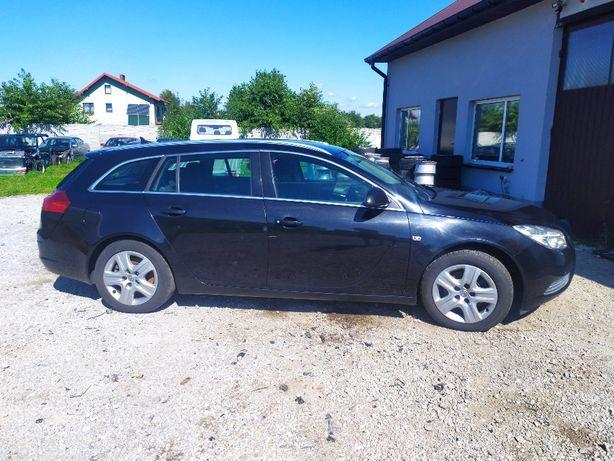 Relingi dachowe Opel Insignia chrom
