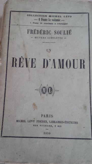 Rêve d'amour de Frédéric Soulier de 1859