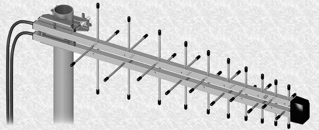 Anteny LOG LTE 10m przewodu gniazdo SMA MIMO 800 do 2600MHz