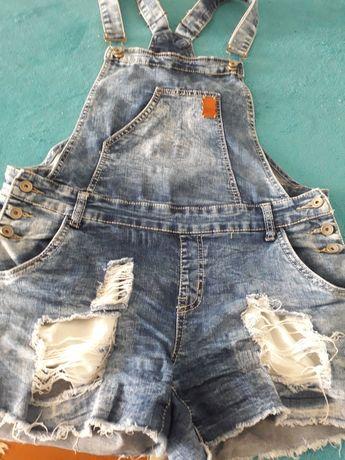Комбинезон джинсовый размер 42-46
