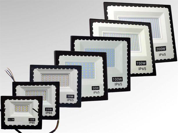 LED светильник, светодиодный прожектор 10Вт 20Вт 30Вт 50Вт 100Вт 150W
