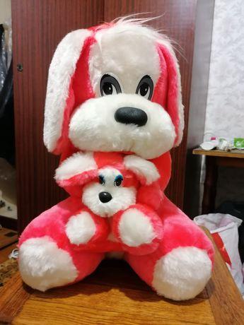 Детская игрушка мягкая собака