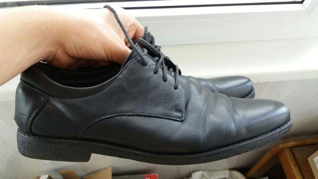 Туфли кожаные мужские, костюмные. 43 размер