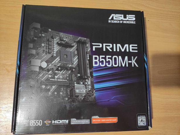 Материнская плата Asus Prime B550M-K