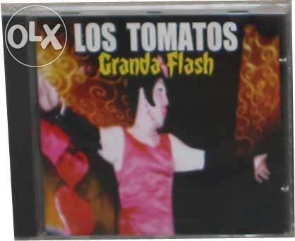 Los Tomatos Ganda Flash raro Novo El Tatu Peste & Sida