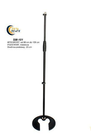 Prosty statyw mikrofonowy - METALOWY SM-101 CERTA CREATE