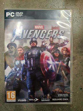 Jogo PC Marvel Avengers  Novo Selado