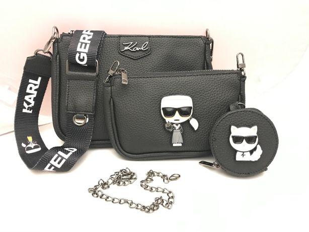 Karl Lagerfeld torba torebka listonoszka 3 w 1
