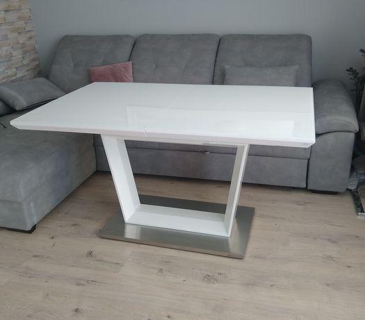 Stół rozkładany biały