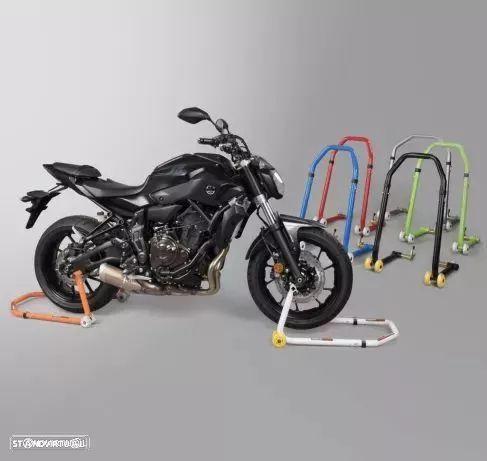 Cavalete para moto 2 em 1 frente e traz ( stand paddock ) suporte mota