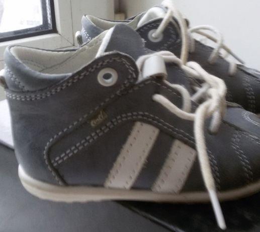 Детские ботинки ортопедические 18р- EMEL Первая обувьFirst Shoes кожа-