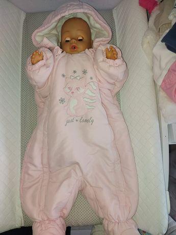 Kombinezon  niemowlęcy zimowy 68 i 74