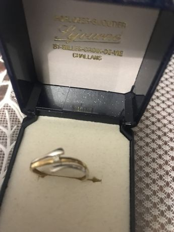 Золотое кольцо с диамантом