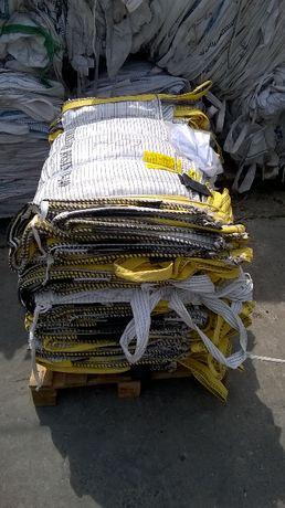 Opakowania Worki Big Bag wysokość 160cm na 1200kg Czystego Materiału