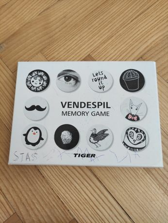 Memory game Tiger dla dziecka 5+