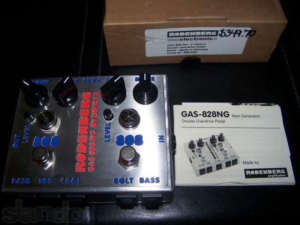 Overdrive Rodenberg Custom HANDMADE DOUBLE DISTORTION 828Next Genera