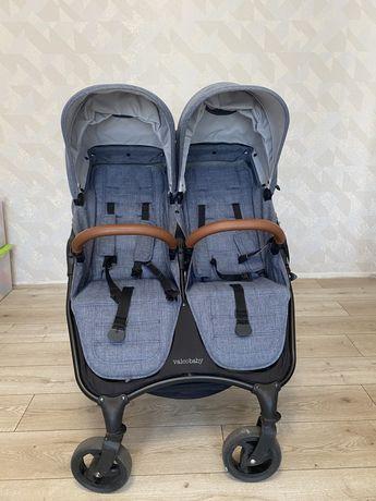 Коляская для двойни коляска Valco baby Snap Duo Trend / Denim