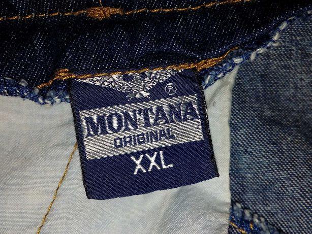 Винтажная джинсовая юбка Монтана 80-х годов , ретро Montana original