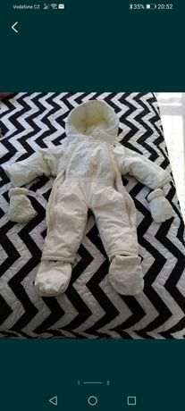Kombinezon, śpiwór niemowlęcy, zimowy, rozmiar 68