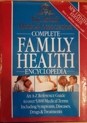 Tony Smith British Medical Association Family Health Encyclopedia