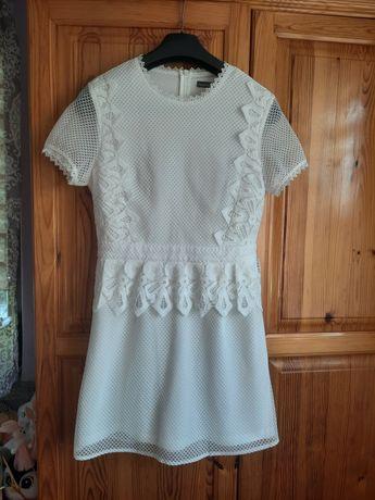 Sukienka  azurowa r s