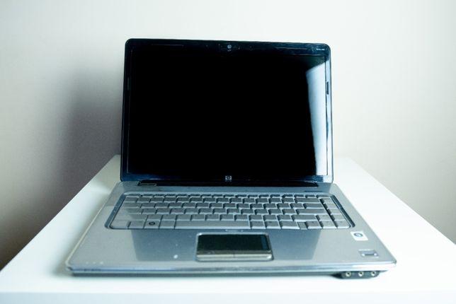 Laptop pavilion HP DV5 - sprawny, nie świeci matryca