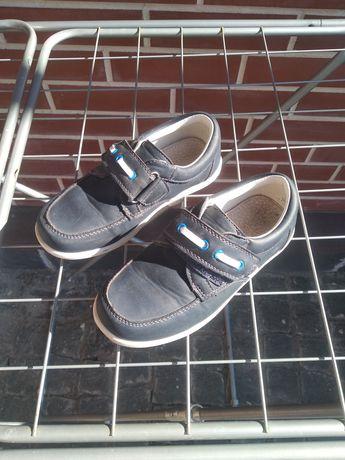 Школьные туфли мокасины для мальчика